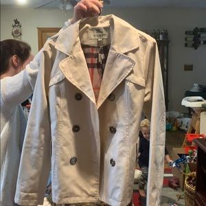 Burberry cotton lightweight coat